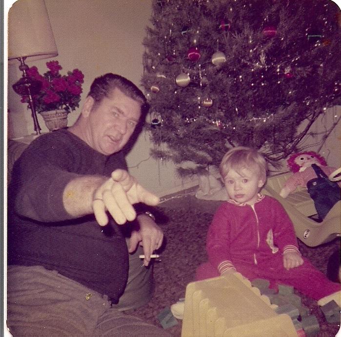 Christmas 1973 or so...