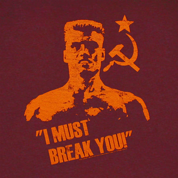 Much like Ivan Drago of Rocky IV, I'm on a mission to break the will of telemarketers.