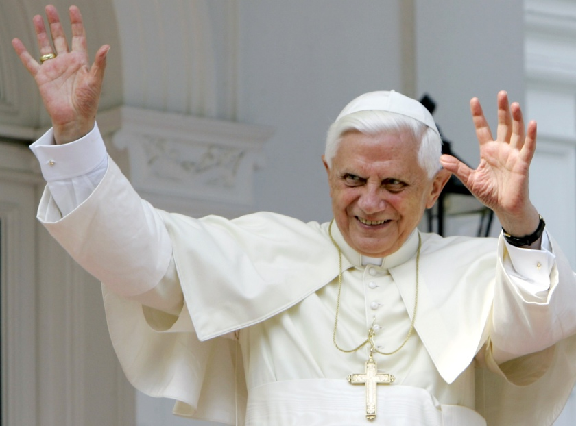 Pope Benedict XVI, the first Pope in 599 years to resign as the pontiff.