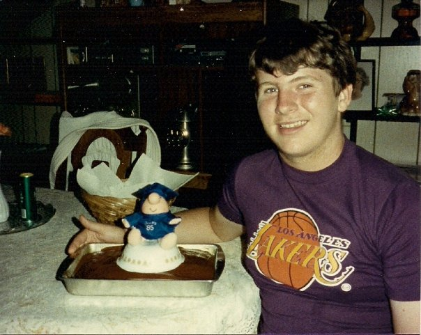 The happy younger version of myself after graduating middle school at 13, June of 1985.