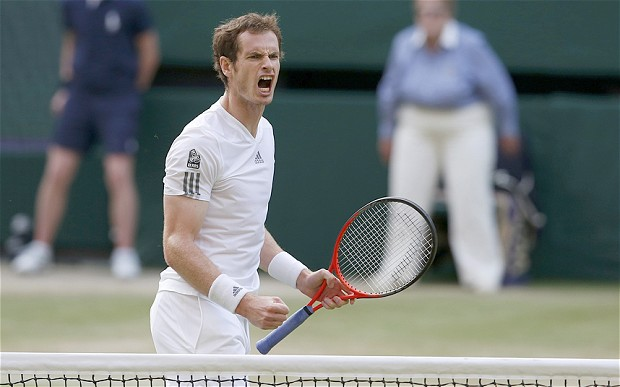 Andy Murray, the 2013 Wimbledon men's champion.