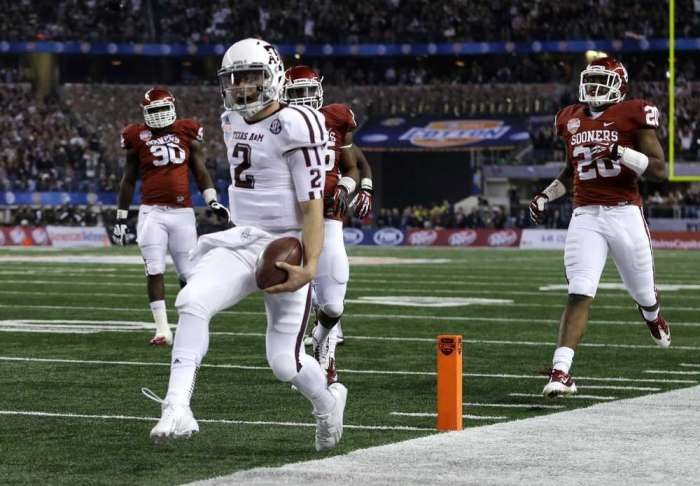 """Texas A&M fans better enjoy """"Johnny Football"""" while he's still around.  His days as a college footballer appear numbered."""