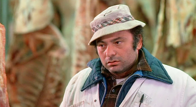 Actor Burt Young as Paulie Panina in the first Rocky movie, 1976.