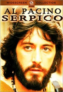 Al Pacino in the role of Frank Serpico.