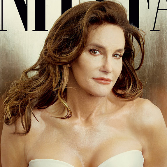 Caitlyn Jenner on a recent cover of Vanity Fair.