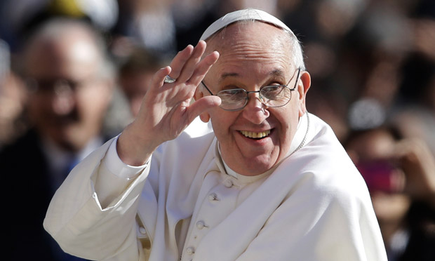 Pope Francis is currently touring the northeastern United States.